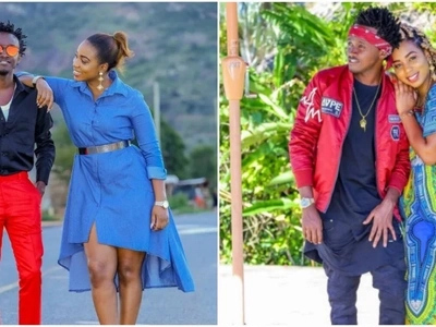 Bila 'make up' mchumba wa Bahati, Diana Marua huonekana vipi? (picha)