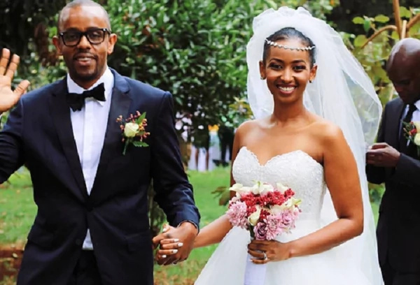 Former Tahidi high actor Sarah Hassan corrects Kenyans days after the wedding