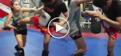 Kathryn Bernardo caught doing amazing muaythai! How dangerous she is!