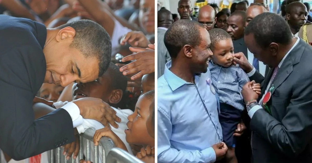 Obama vs Uhuru, who is the favorite with the kids?