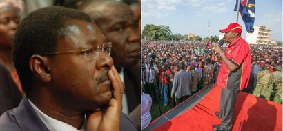 Wetangula in a bitter altercation with Jubilee governor over Uhuru's massive rally in Bungoma