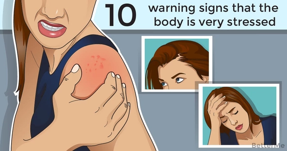 10 warning signs that the body is stressed