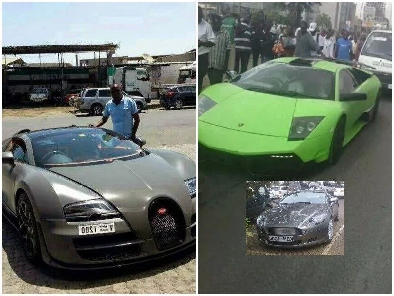 These are the top 10 most expensive CARS in Kenya and their respective owners (photos)