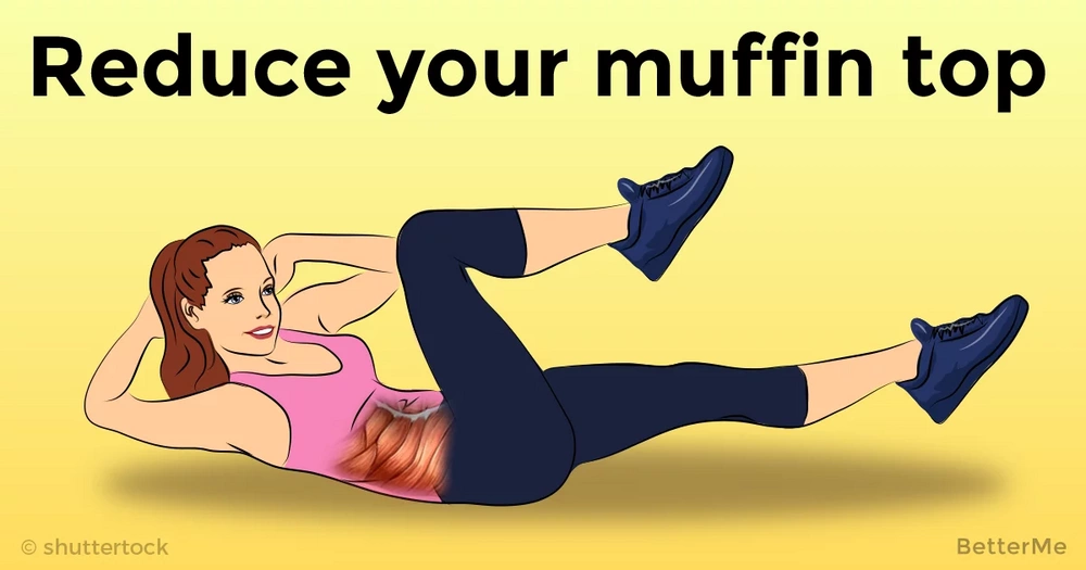 25 minutes workout that can help you reduce muffin top