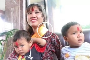 Pinay who was severely abused by Nepalese husband decides to go home to the Philippines