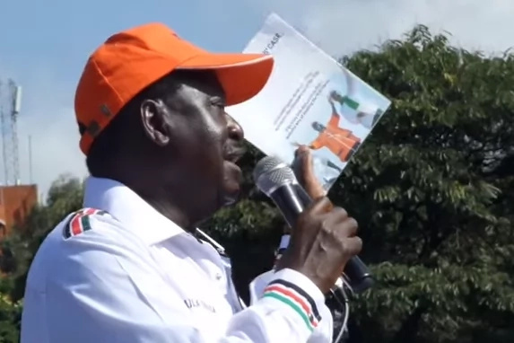 Kibra MPs car pelted with stones coz of Raila's absence