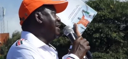 Tharaka Nithi residents welcome Raila Odinga in a way that will make Jubilee salivate (video)
