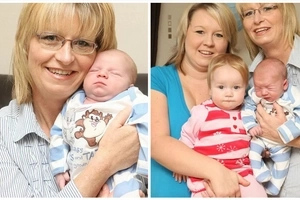 Abuela que fue esterilizada hace 13 años dio a luz a un bebé milagroso