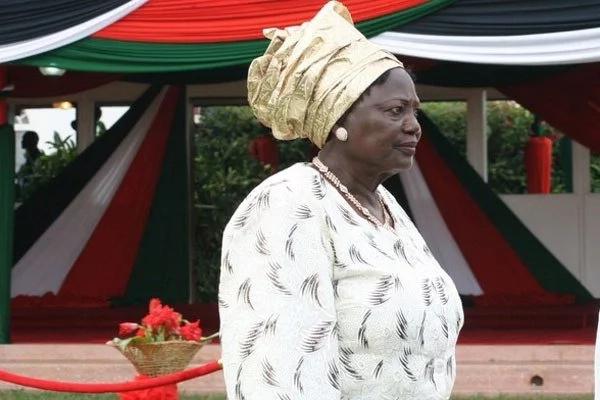 Uhuru Kenyatta mother