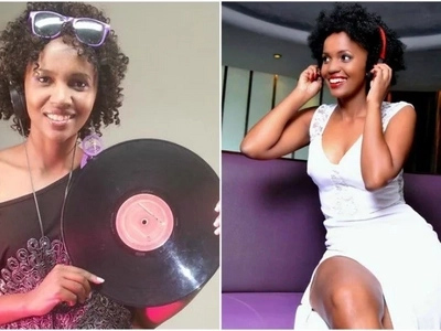 DJ Pierra Makena awashangaza wakenya kwa kuvaa nguo fupi zaidi (Picha)