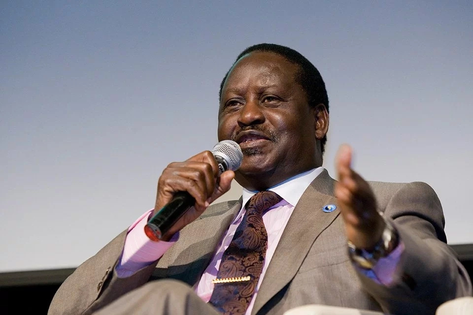 raila takes on Uhuru's spending and IEBC