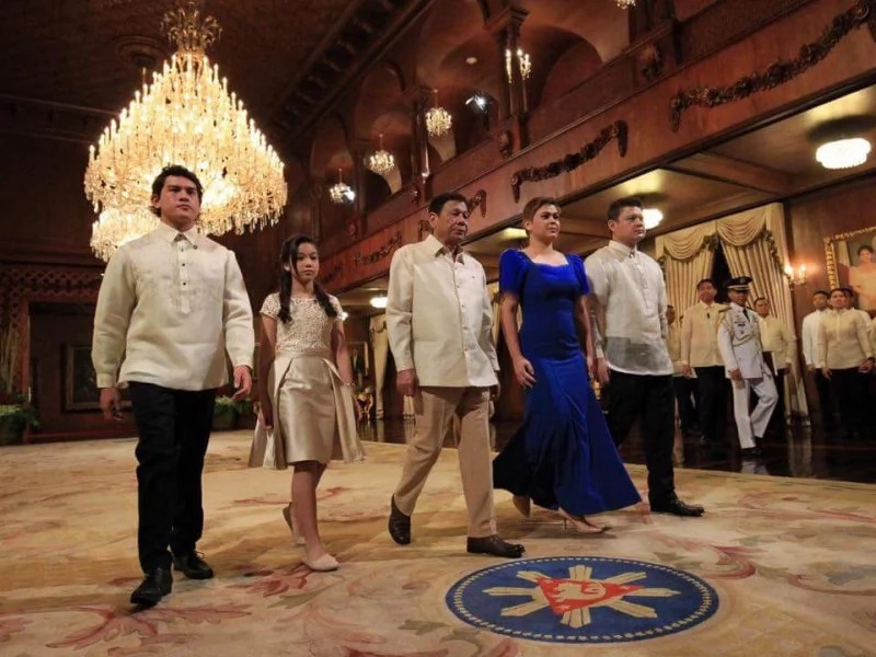 Duterte family steals the spotlight with their funny side