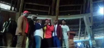 VURUMAI katika mkutano wa Jubilee uliohudhuriwa na Sonko na Kamanda (picha)