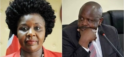 Jubilee's Joyce Laboso embarasses Ruto on a live TV interview