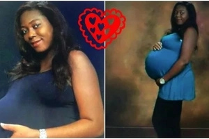 Happy woman gives birth to triplets after 6 years of marriage (photos)