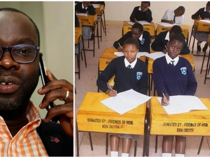 Kibra MP donates desks, chairs and books as he celebrates his 40th birthday