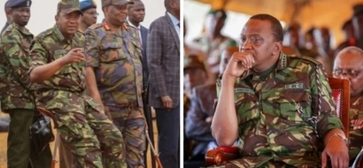 Ex KDF officer moves to court to have Uhuru remain in office until 2018