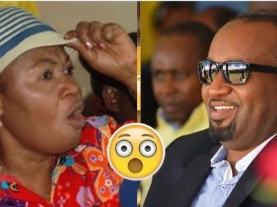 Hassan Joho causes a stir in Mombasa as he departs for Mecca (photo)
