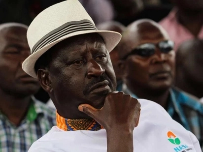 I will swear by the Bible no matter what and no one will stop me - Raila resurfaces with swearing-in threats