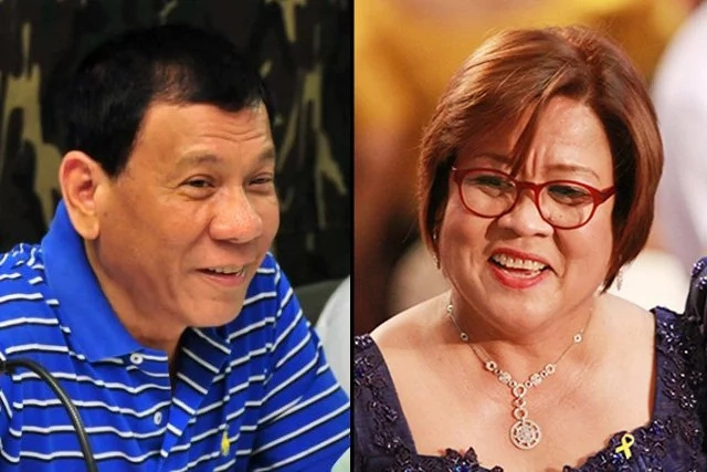 Here's De Lima's reaction to Duterte's SONA