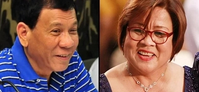 Duterte updates the nation with De Lima's love life: She has a new boyfriend!