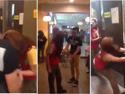 Creative guy tries Jollibee inspired harana but girl hates it!