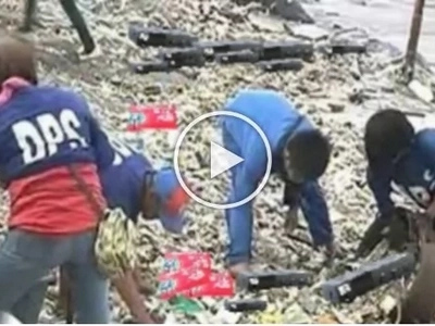 Another change scam! Baywalk still a garbage dump after typhoon Lawin