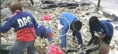 Change is alien! Baywalk brims with dump after typhoon Lawin