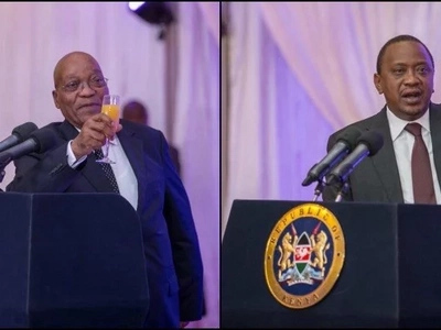 2 presidents who earn more than UHURU Kenyatta in Africa (photos)
