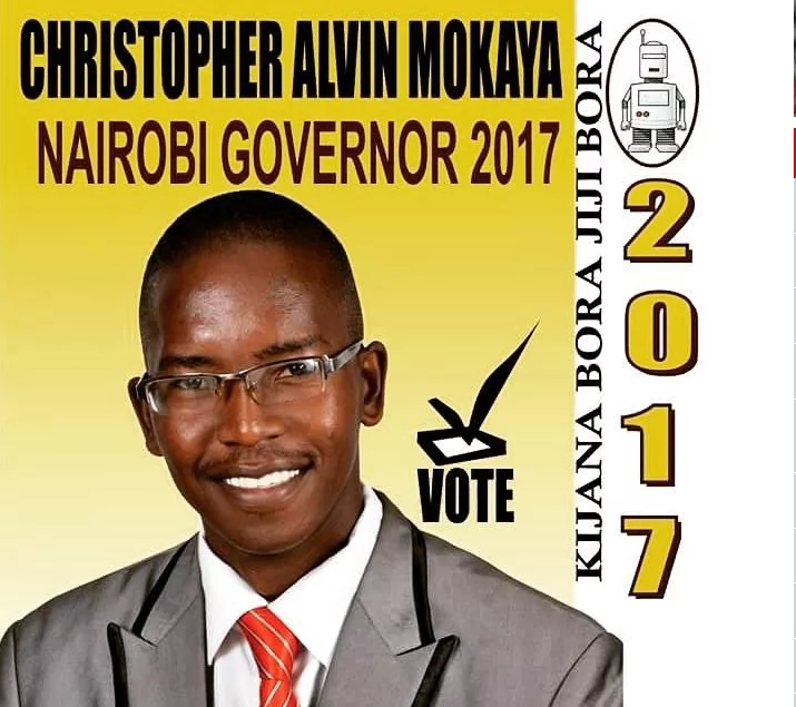 School teacher for Nairobi governor
