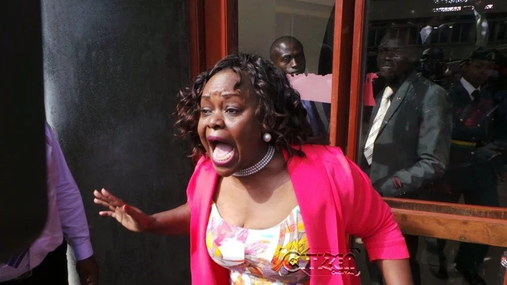 Agree that you were misadvised - Millie Odhiambo tells Uhuru