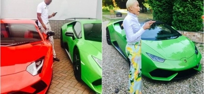 'Money doesn't enjoy the company of fools!' Zimbabwean pastor shows off his Lamborghini