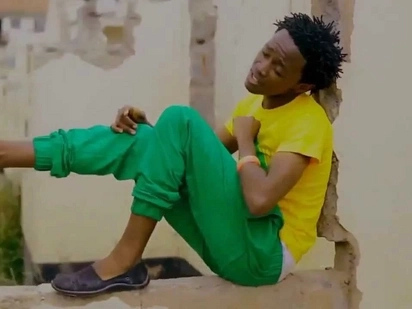 Bahati trolled for wearing girlfriends shoes