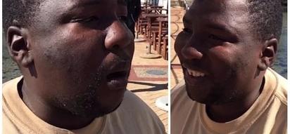 Anastahili Oscar! Mwanamume abweka kama mbwa, atoa milio kama ya punda huku akiiga sauti kadha