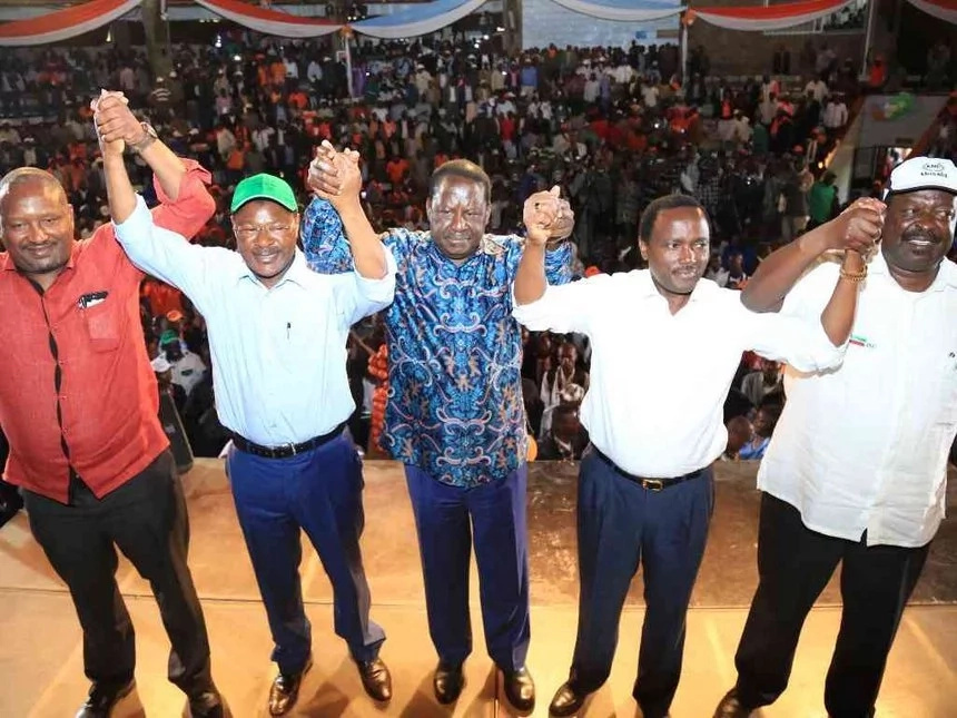 Raila suspends mass action to allow mass VOTER registration