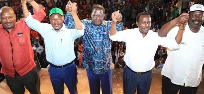 NASA suffers blow just hours after Bomas meeting