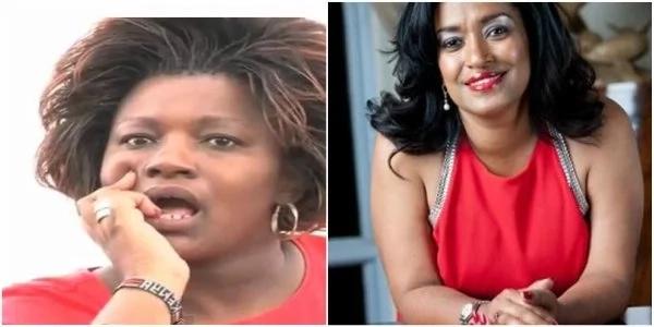 Rachel Shebesh afika kwa ambulensi kwenye kituo cha IEBC (Video)