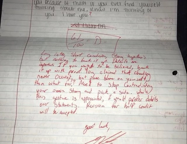 A Very Creative Way Of How To Reply A Cheating Girlfriend