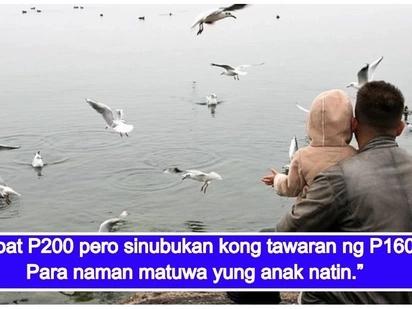 Nakakaantig na kwento tungkol sa pagmamahal ng isang ama na kayang ibigay ang lahat kahit wala ng matira sa kanya para sa anak