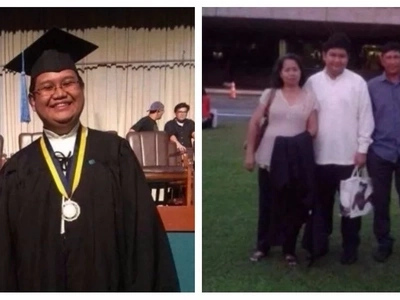 This farmer's son can't afford a dorm, so he wakes up at 3am to finish college and graduated with honors!