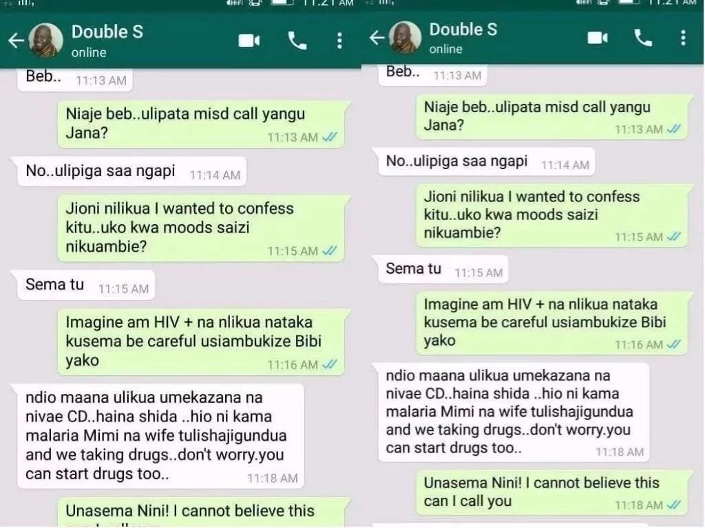 Binti aamua kumwarifu MPANGO WA KANDO hali yake ya HIV, lakini ashtuka kutokana na jibu analopata