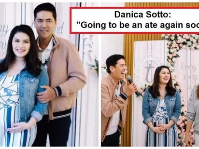 Excited na rin sila! Vic Sotto's children throw baby shower for Pauleen Luna