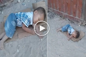 The story of this 2-year-old boy will make you cry