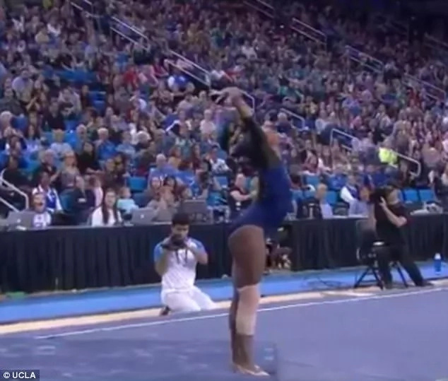 Online fame! Gymnast becomes internet SENSATION after Beyonce-inspired performance (photos, video)