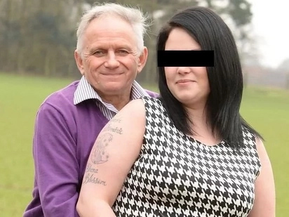 She married a man 32 years older than her, now she is living with him and his ex-wife