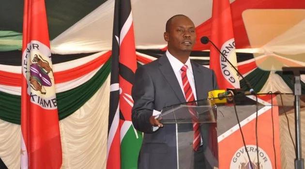 Kiambu Governor William Kabogo storms IEBC meeting