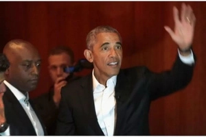 Fat check! Obama criticized for agreeing to make a speech at Wall Street event for Ksh40 MILLION
