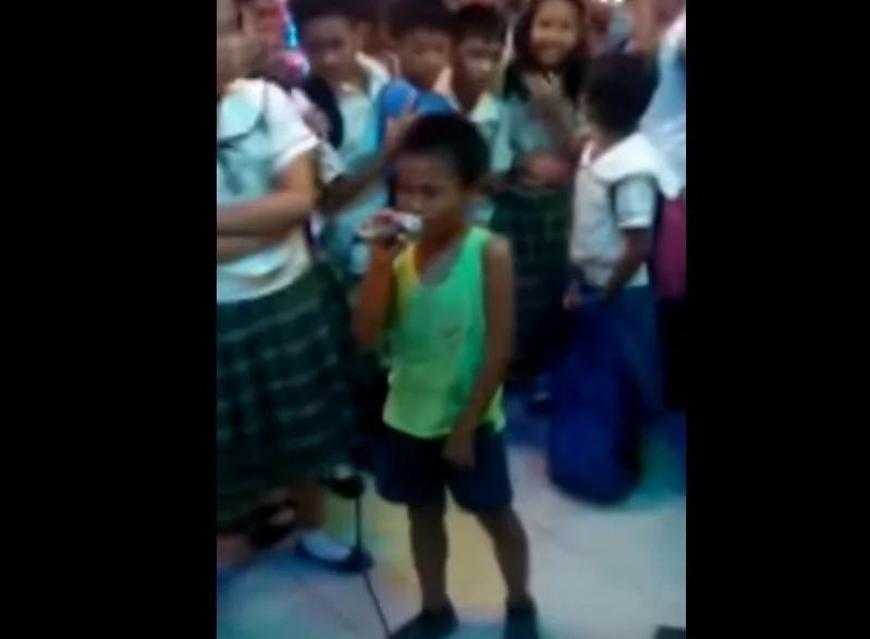 Talented kid went viral after belting epic song 'Sayang na Sayang'