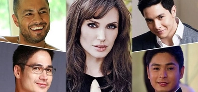 7 Pinoy actors who totally stand a chance on winning over Angelina's heart