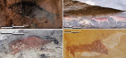 Research reveals oldest rock art found in Southern Africa is more than 5,000 years old (photos)